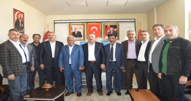 Muhtarlardan Başkan Arslana Ziyaret