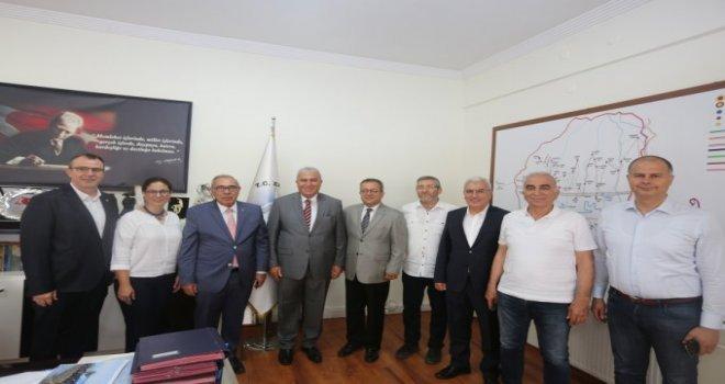 Ayso Yönetimi Efeler Belediye Başkanı Mehmet Fatih Atay I Ziyaret Etti