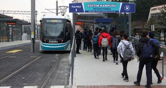 Sekapark ? Plajyolu Tramvay Hattına Rekor İlgi