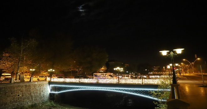 Çankırının Köprülerine Işıklı Dokunuş
