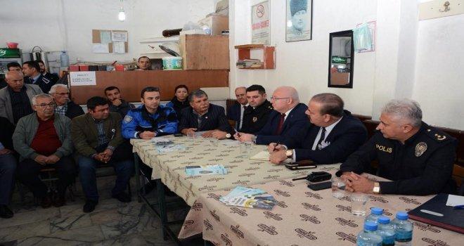 Menteşede Halkla Buluşma Ve Güvenlik Toplantısı