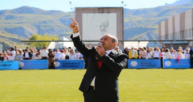 Tuncelide 29 Ekim Cumhuriyet Bayramı Kutlamaları