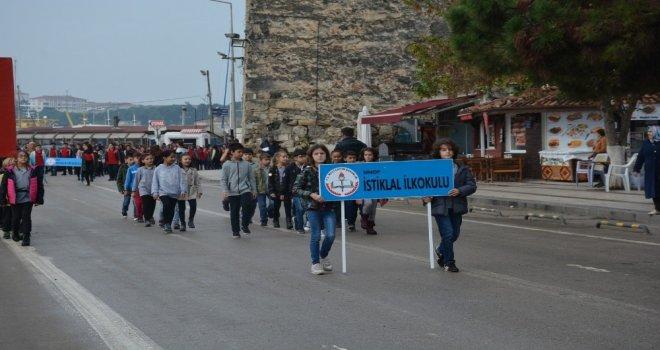 Sinopta Cumhuriyet Bayramı Provası