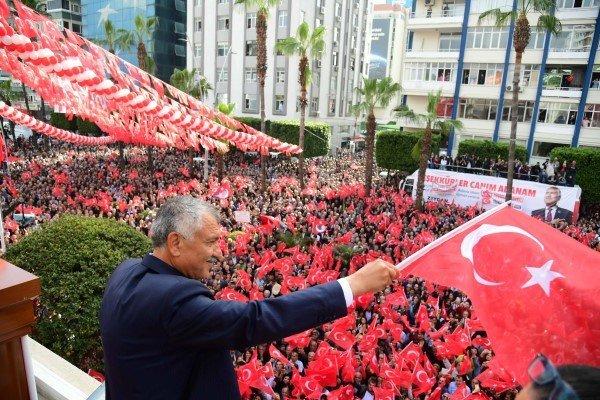 Başkan Zeydan Karalar :  Türkiye Cumhuriyeti, Sonsuza Kadar Yaşayacaktır