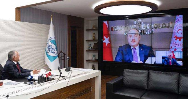 Başkan Büyükkılıç'ın Önerisine Bakan'dan
