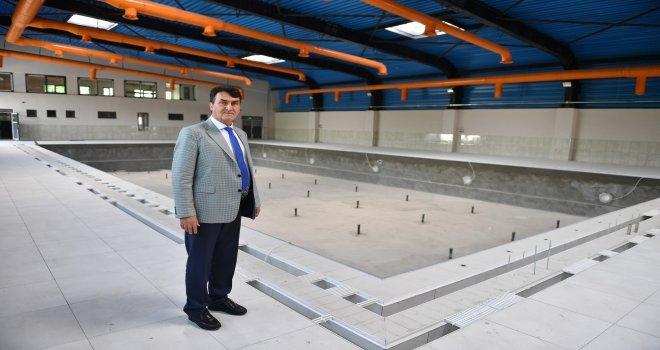 Yeni Karaman Yüzme Havuzu Artık Daha Modern