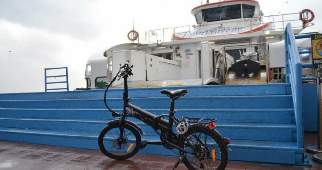 Gemiler bisikletliye 5 kuruş