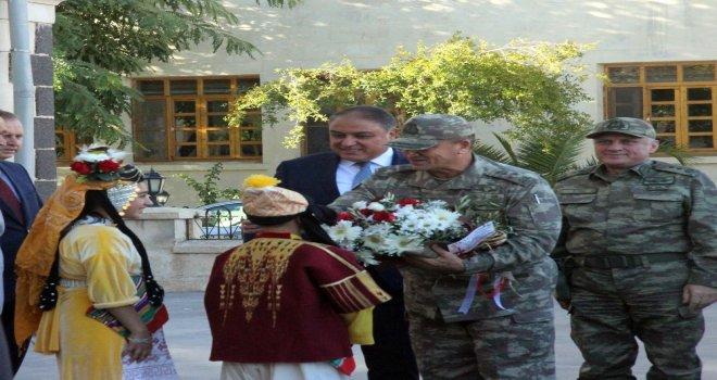 2İnci Ordu Komutanı Orgeneral Temelden, Kilis Valisine Veda Ziyareti