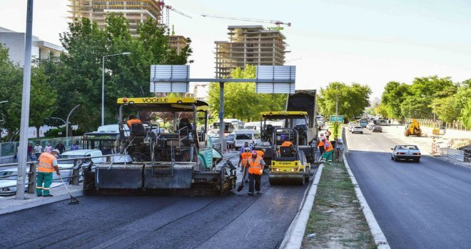 Büyükşehir Belediyesi Çalışmalarına Devam Ediyor