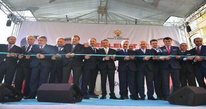 Alparslan Türkeşin Adı Osmangazide Yaşayacak