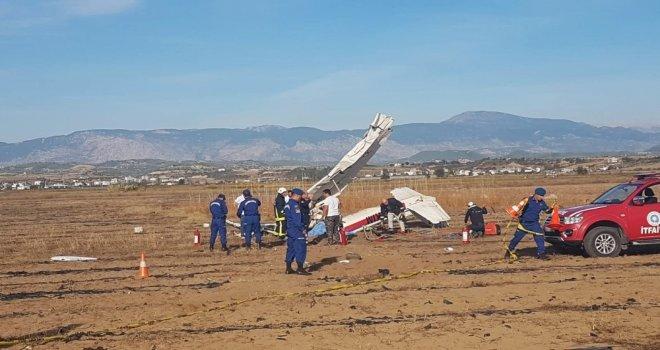 Antalyada Keşif Uçağı Düştü: 2 Ölü (1)