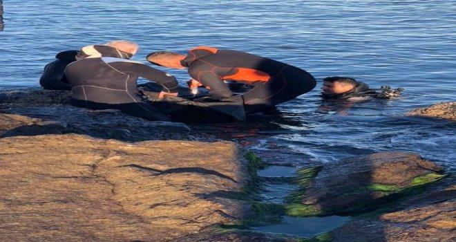 Giresunda Denize Düşen Gencin Cesedine Ulaşıldı
