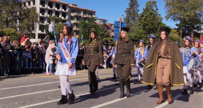 Uşakta 29 Ekim Cumhuriyet Bayramı Kutlamaları