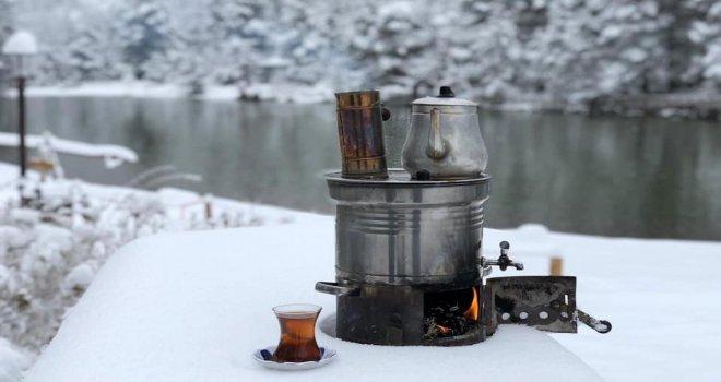 Karla Birlikte Limni Gölü Eşsiz Bir Güzelliğe Kavuştu