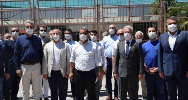 CHP'den Atatürk Spor Salonu'nun yıkılmak istenmesine tepki