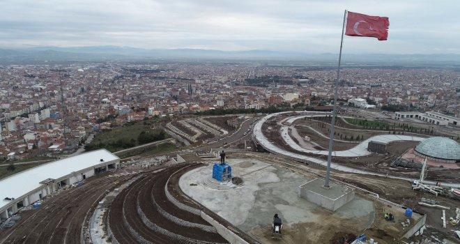 Kuvayi Milliye Şehri Balıkesir, Kendine Yakışan Bir Atatürk Heykeline Kavuşuyor.