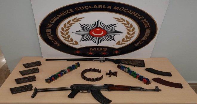 Muşta Silah Ticareti Yapan Şahıs Yakalandı