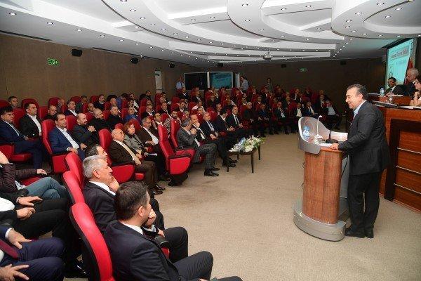 Adananın Vizyon Projeleri Ato Meclisinde