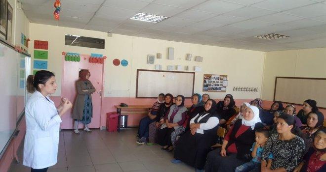 Çekerekte Köylerde Kanser Eğitimi Verildi