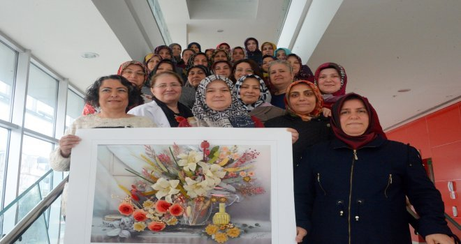 Osmangaziden Kadınlara İğne Oyası Eğitimi