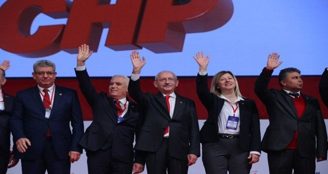 Chp'nin Adayları Ankarada Tanıtıldı