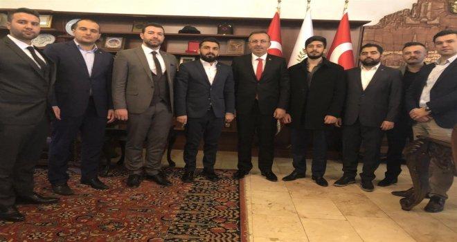 Tügva Heyeti, Belediye Başkanı Seçeni Ziyaret Etti