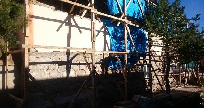 Başkan Mermer, Tarihi Cami Yıkılma Tehlikesi Yaşıyor