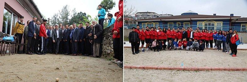 Büyükşehir Destekliyor, Kandırada 600 Öğrenci Bocce Oynuyor