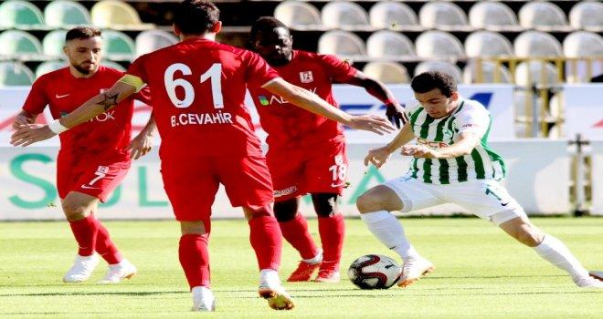 Spor Toto 1. Lig: Giresunspor: 0 - Balıkesirspor Baltok: 0