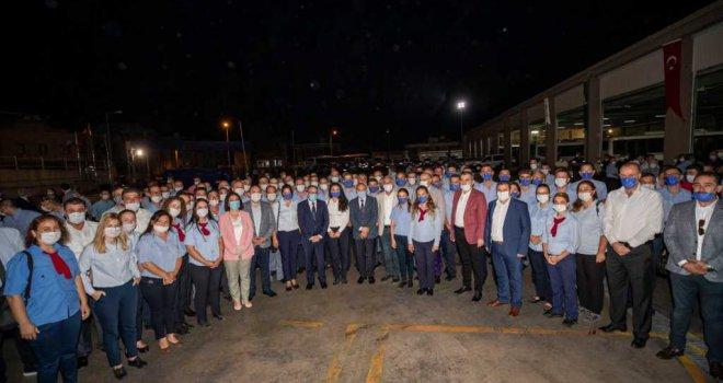 Başkan Soyer'den şafak ziyareti