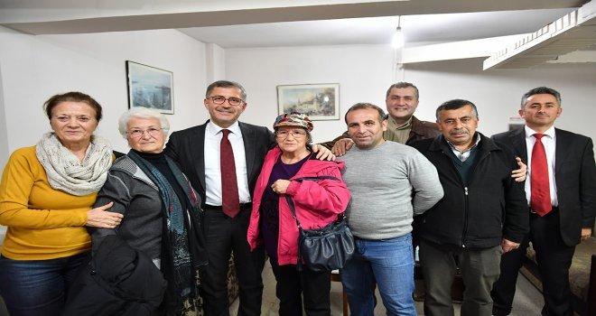 Başkan Türkmen , Altunizade Site 61İ Ziyaret Etti