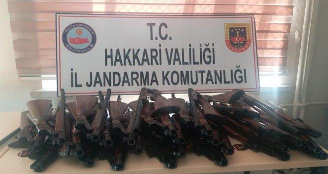 Şemdinlide 30 Adet Av Tüfeği Ele Geçirildi