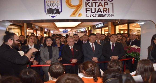 Başkan Albayrak Çorlu Kitap Fuarının Açılış Törenine Katıldı