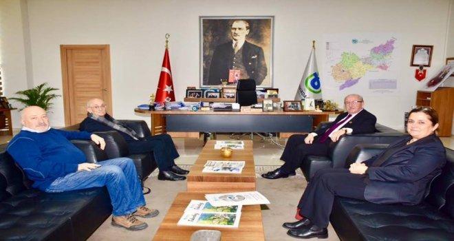 Çekül Yöneticilerinden Başkan Kadir Albayraka Ziyaret