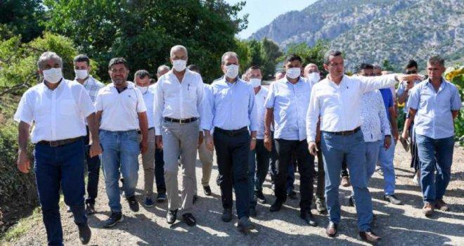 Başkan Seçer, Bayram Turunda