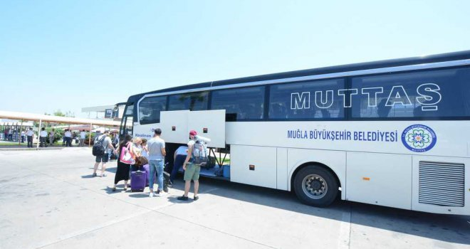 MUTTAŞ 3 Milyon 444 Bin Yolcu Taşıdı