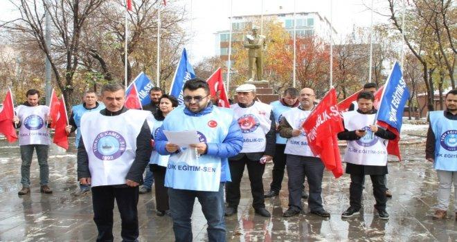 Türk Kamu-Senden Andımız Açıklaması