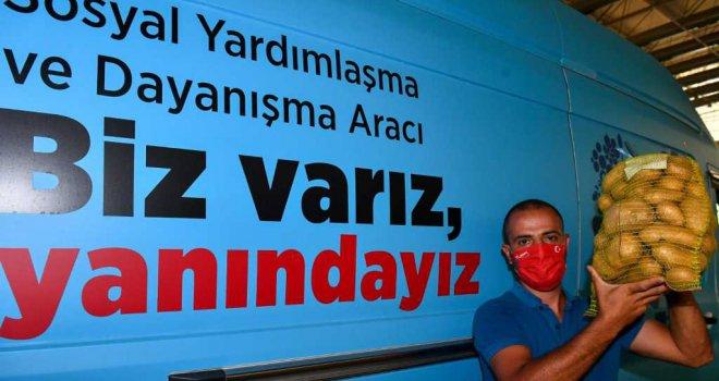 İzmir Büyükşehir 100 ton patates aldı
