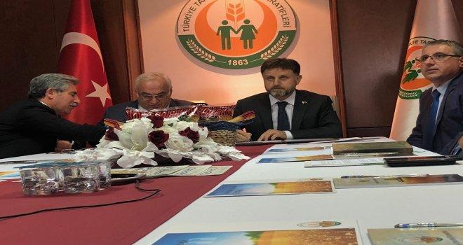 Türkiye Tarım Kredi Kooperatifleri İle Oba Makarnacılıktan Ticari İşbirliği Protokolü
