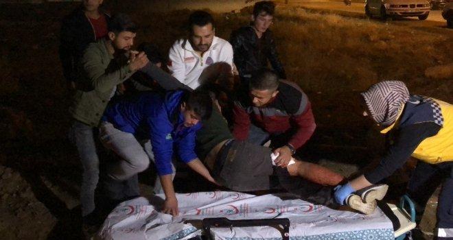 Karamanda İki Gurup Arasında Bıçaklı Kavga: 3 Yaralı
