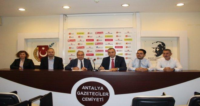 Antalyada Yeni Nesil Gazetecilik Eğitim Ve İstihdam Programı Başlıyor