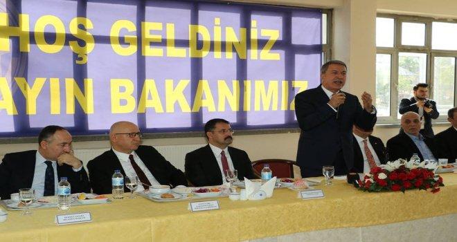 Milli Savunma Bakanı Akar: Son 2 Ayda 450 Civarında Terörist Etkisiz Hale Getirildi