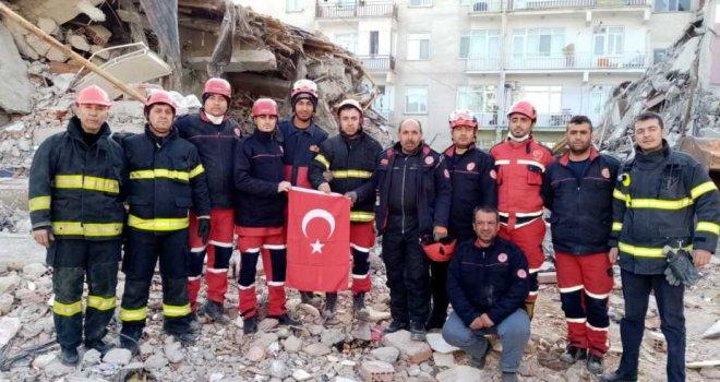Arama-Kurtarma Ekibi Şehre Döndü