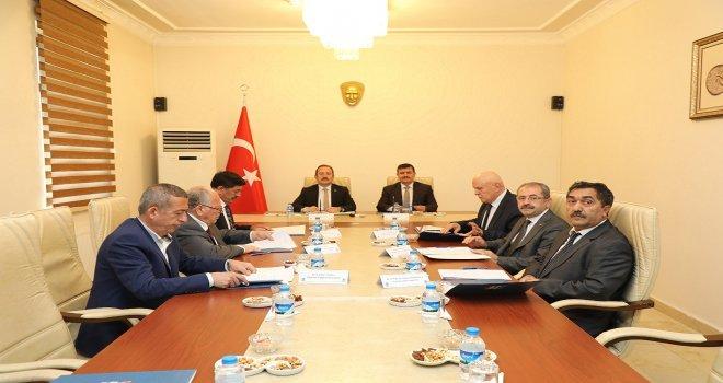Kudaka Yönetim Kurulu Toplantısı Erzincanda Yapıldı