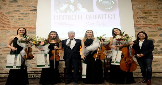 Oda Müziği Festivalinde Nemeth Quartet Rüzgarı