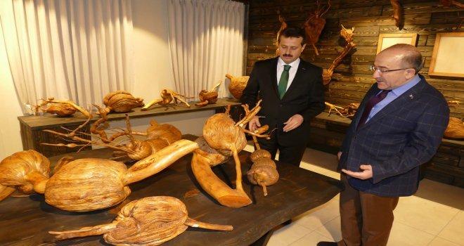 İşadamı Sözenin 20 Yıldır Topladığı  Ağaç Kökleri Trabzonda Müze Oldu