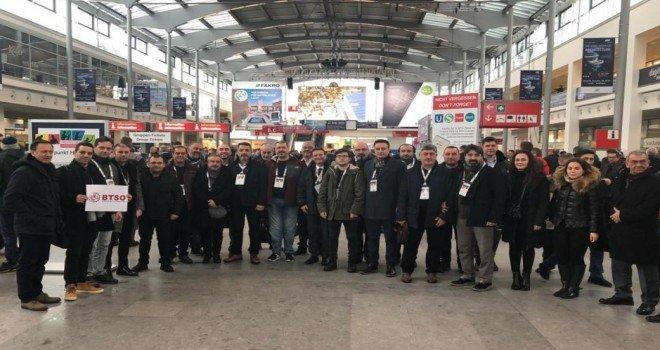 İnşaat Sektörü Temsilcileri Bau Münih 2019 Fuarını Ziyaret Etti