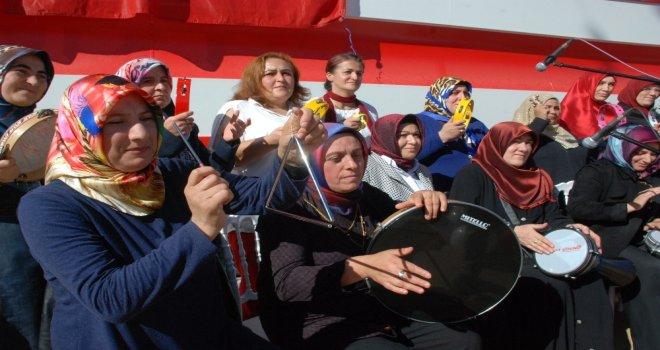 Engelli Anneleri Bir Araya Geldi, Ritm Grubu Kurdu