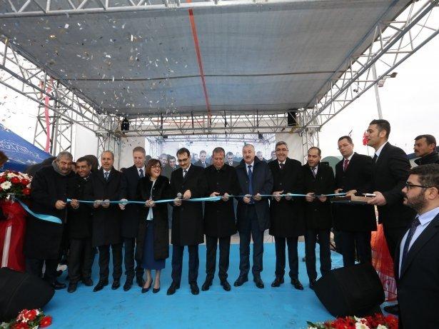 Oğuzeli Biyogaz Enerji Santrali Törenle Açıldı
