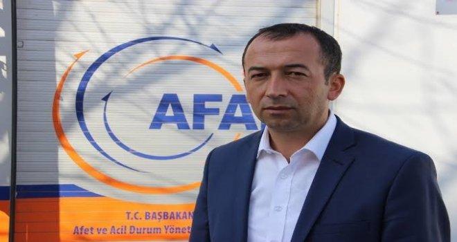 Afad-Sen Genel Başkanı Çelik Muşta
